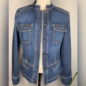 Talbots Classic Jean Jacket
